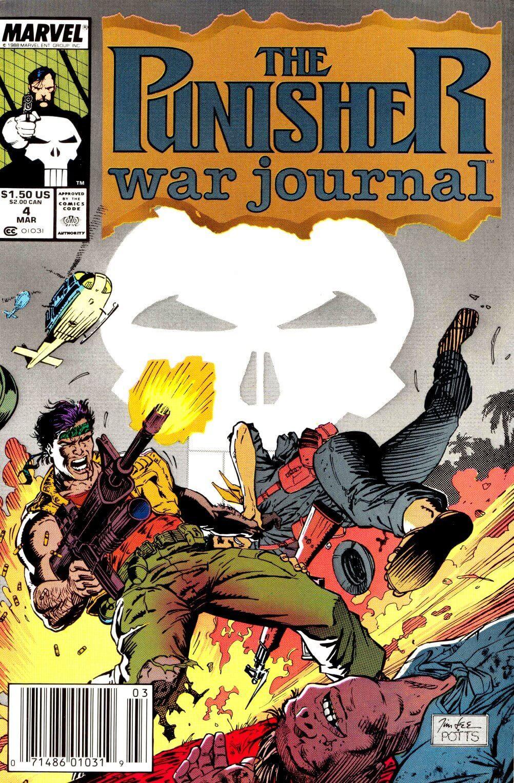 Punisher War Journal Vol 1 #4