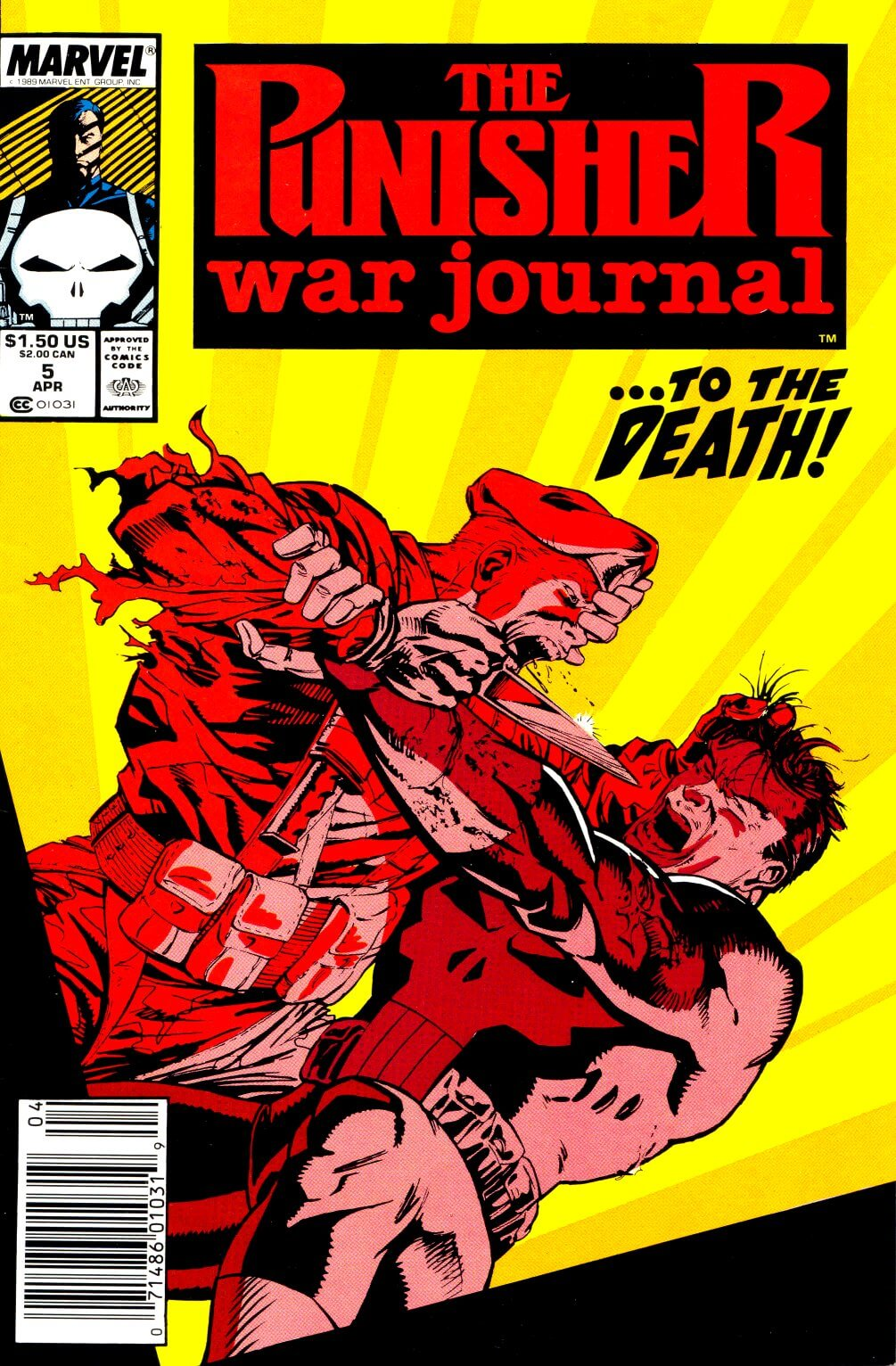 Punisher War Journal Vol 1 #5