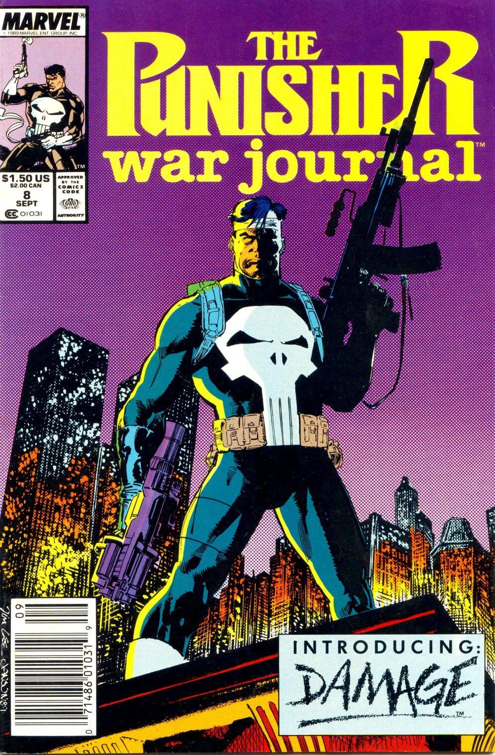 Punisher War Journal Vol 1 #8