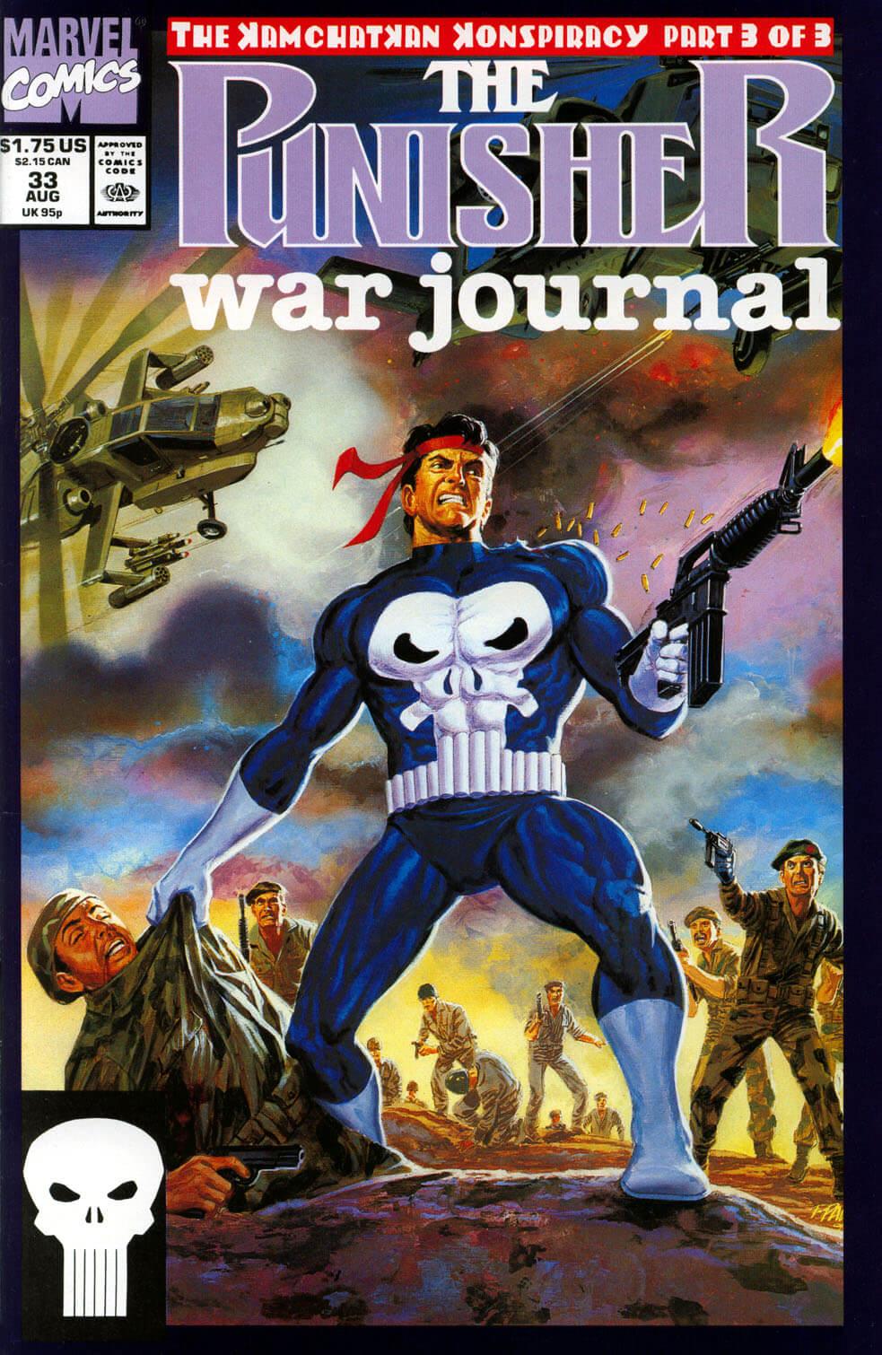 Punisher War Journal Vol 1 #33