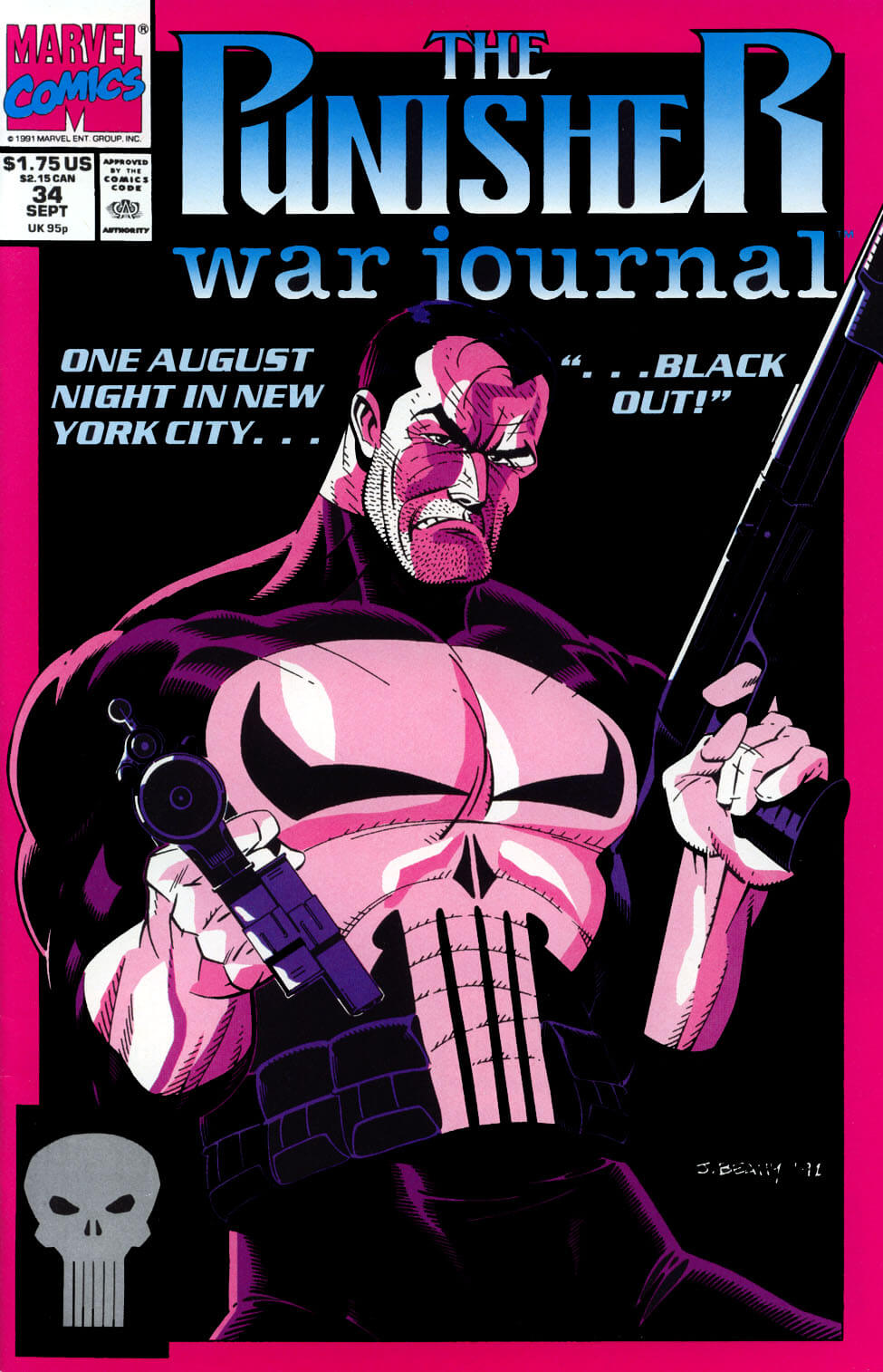 Punisher War Journal Vol 1 #34