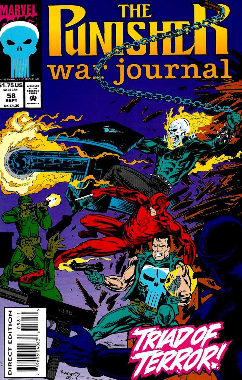 Punisher War Journal Vol 1 #58