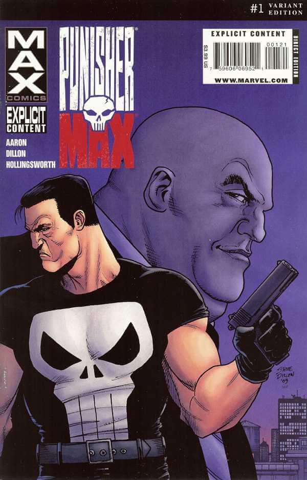 Punisher MAX #1 b