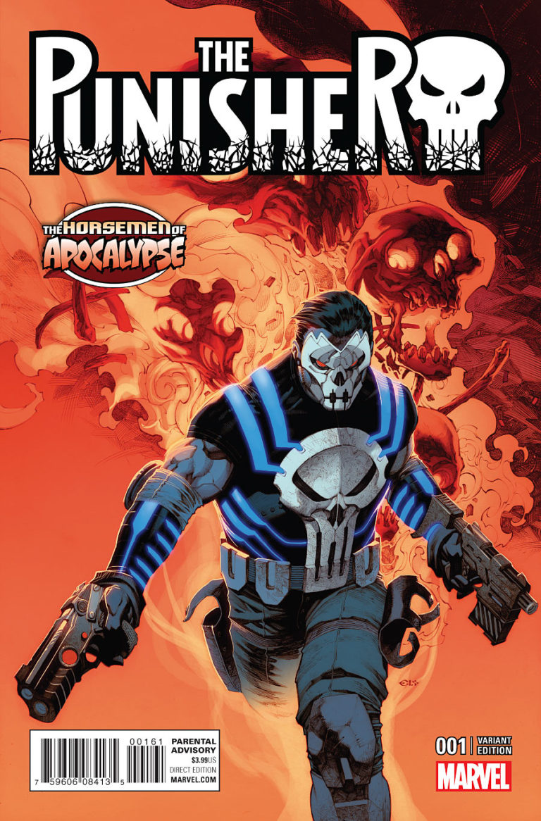 The Punisher Vol 10 #1 j