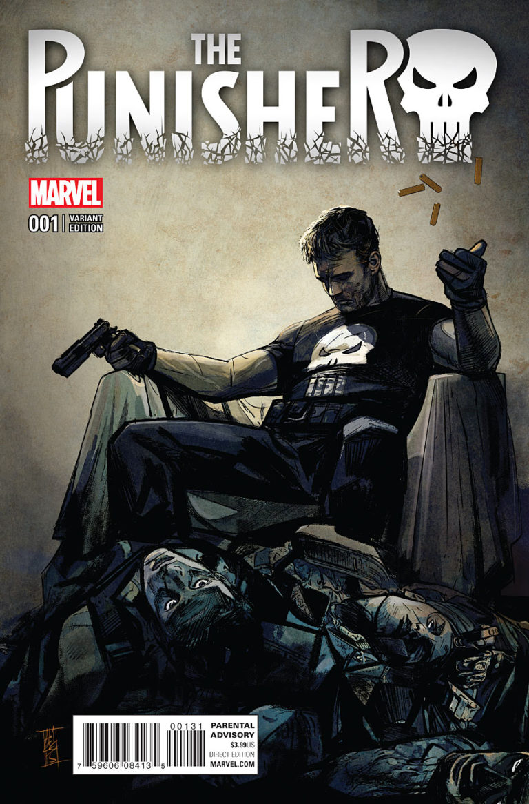 The Punisher Vol 10 #1 b