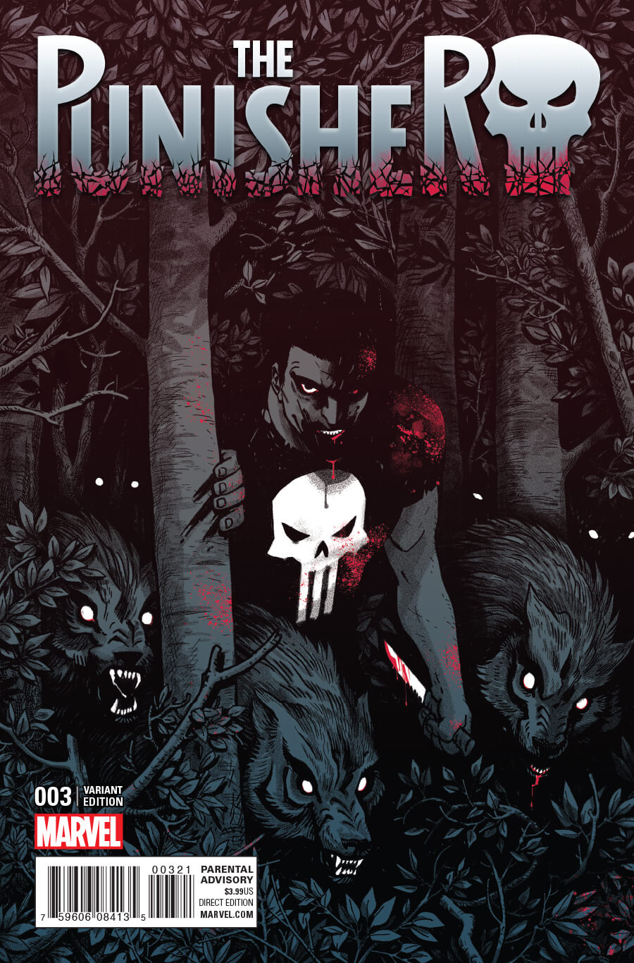 The Punisher Vol 11 #3 b | Punisher Comics