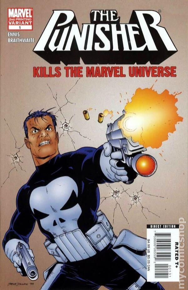 Punisher Kills the Marvel Universe e