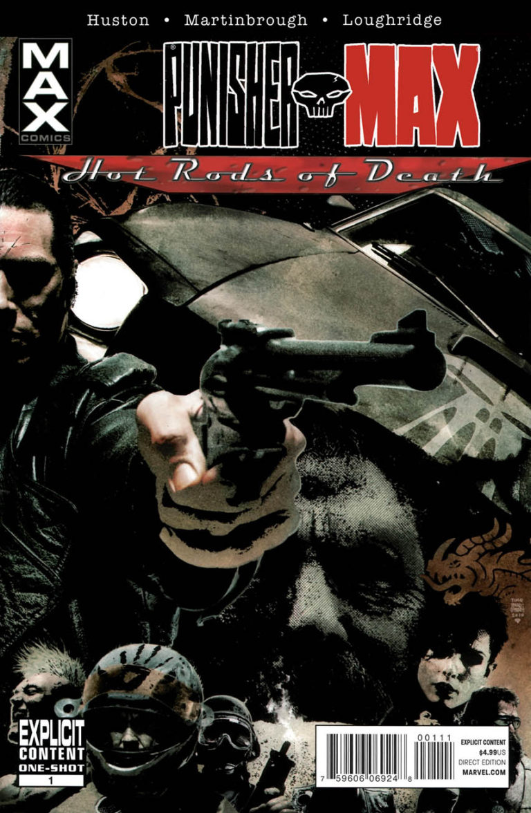 Punisher MAX Hot Rods of Death