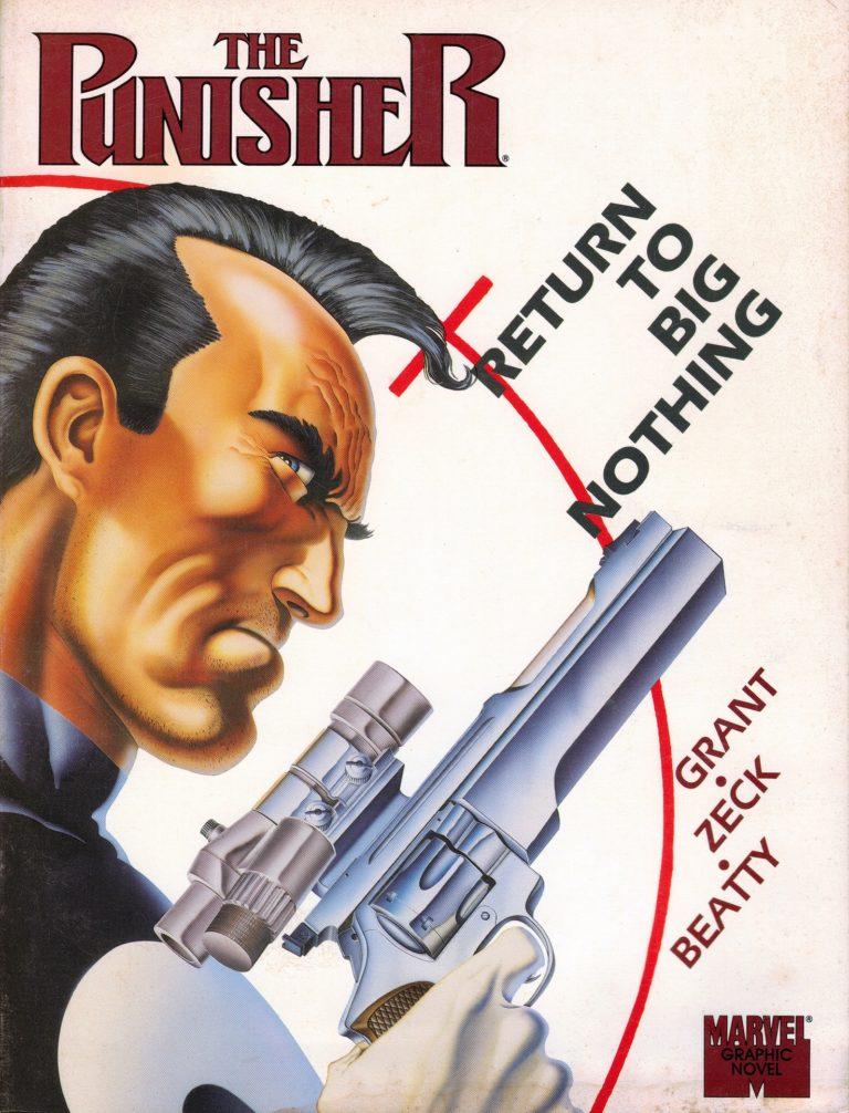 Punisher Return To Big Nothing 2nd Print