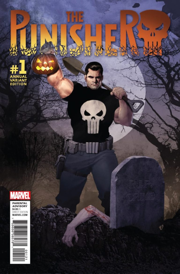 Punisher vol 10 Annual 1 c