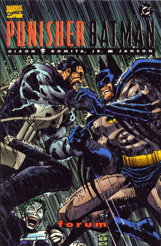 Punisher Batman Deadly Knights