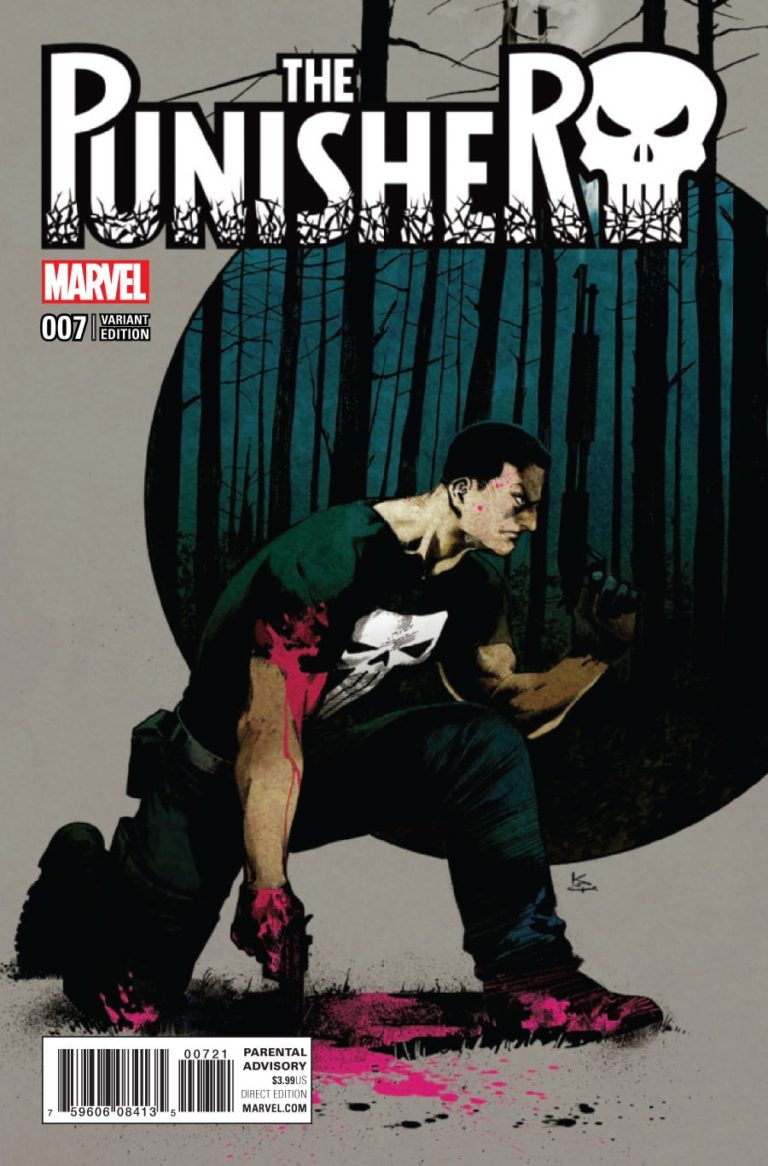 Punisher Vol 10 #7 Shirahama Variant