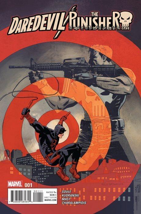 Daredevil Punisher Seventh Circle #1