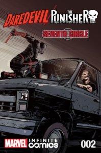 Daredevil Punisher Seventh Circle #2