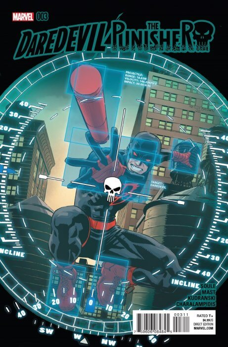 Daredevil Punisher Seventh Circle #3