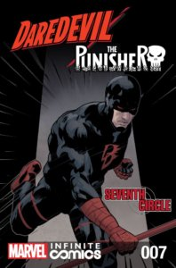 Daredevil Punisher Seventh Circle #7
