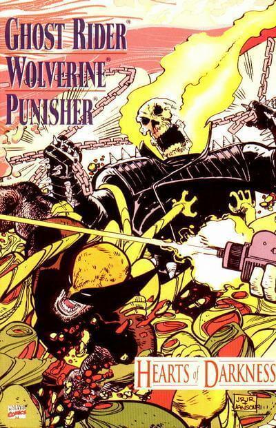 Ghost Rider, Wolverine, Punisher Hearts of Darkness