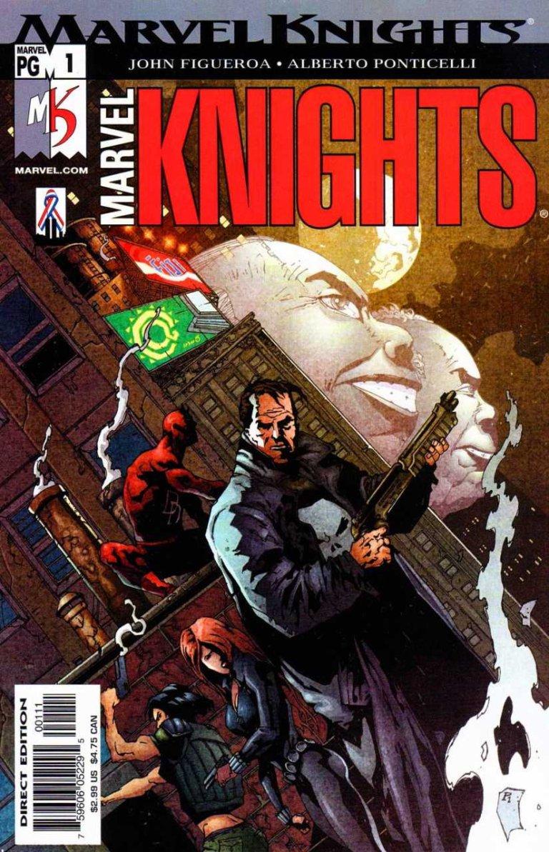 Marvel Knights Vol 2 #1