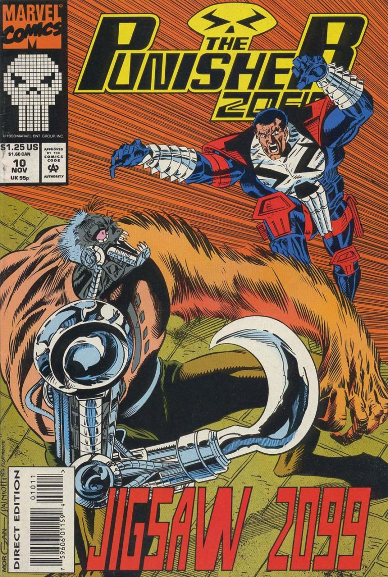 The Punisher 2099 #10