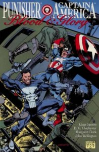 Punisher Captian America Blood and Glory #1