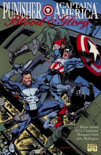Punisher Captian America Blood and Glory #1