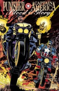 Punisher Captian America Blood and Glory #2