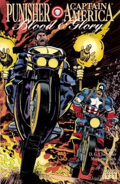 Punisher Captian America Blood and Glory #2