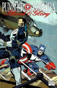Punisher Captian America Blood and Glory #3