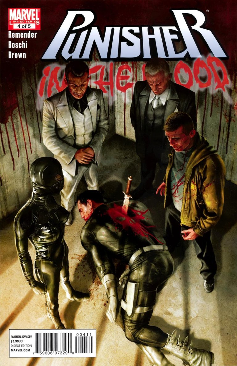Punisher In the Blood #4