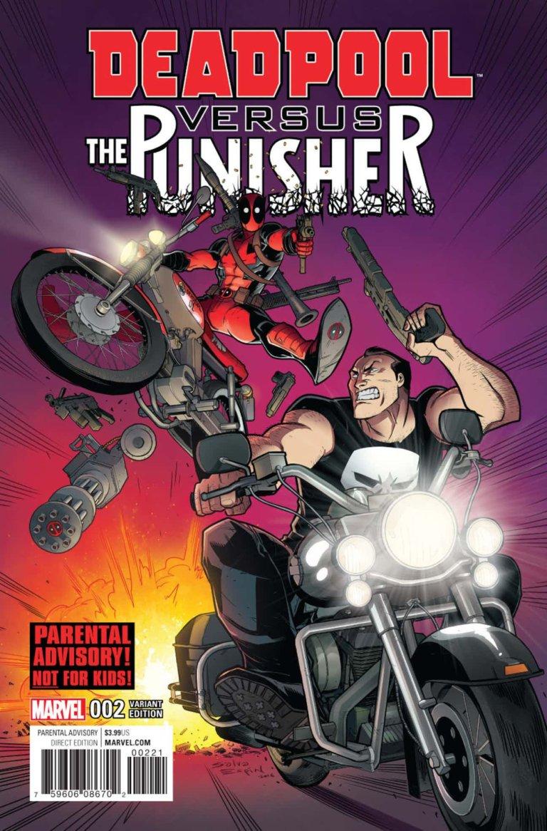 Deadpool vs. Punisher 2b Espin Variant