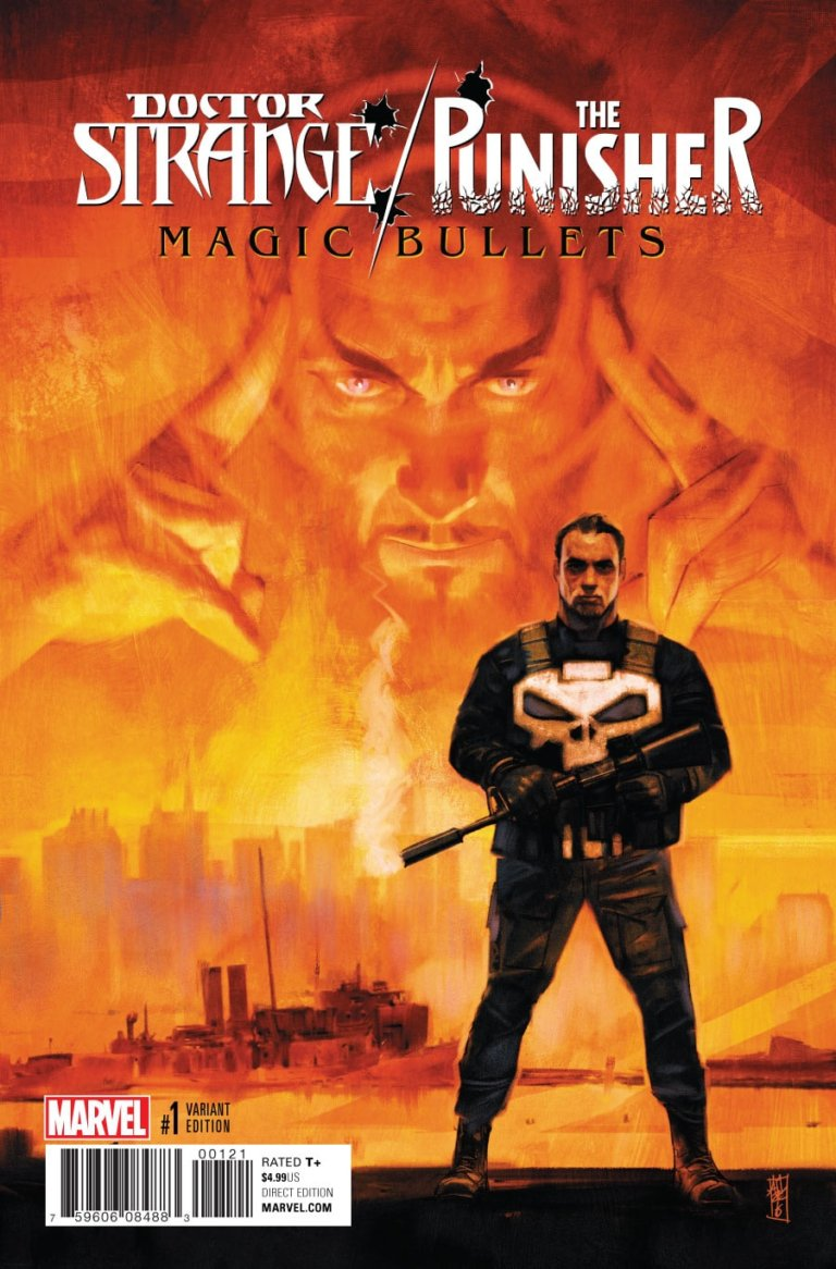 Doctor Strange Punisher Magic Bullets #1 b