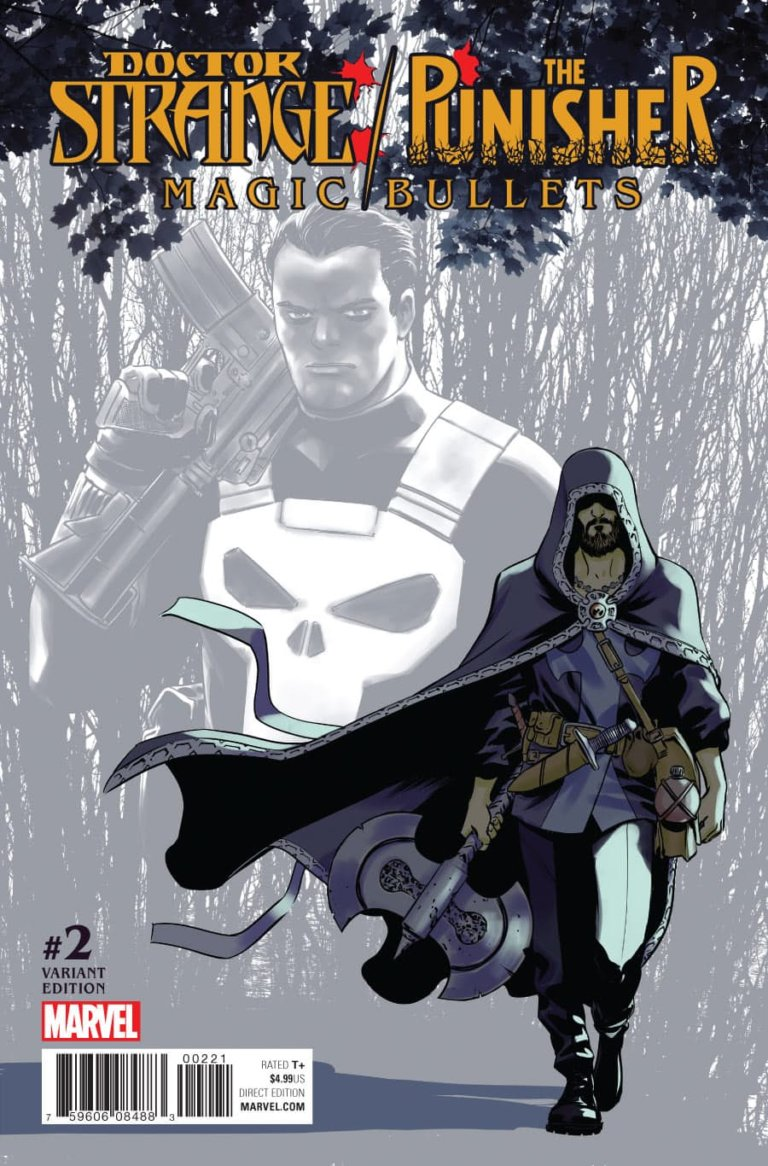 Doctor Strange Punisher Magic Bullets #2 b