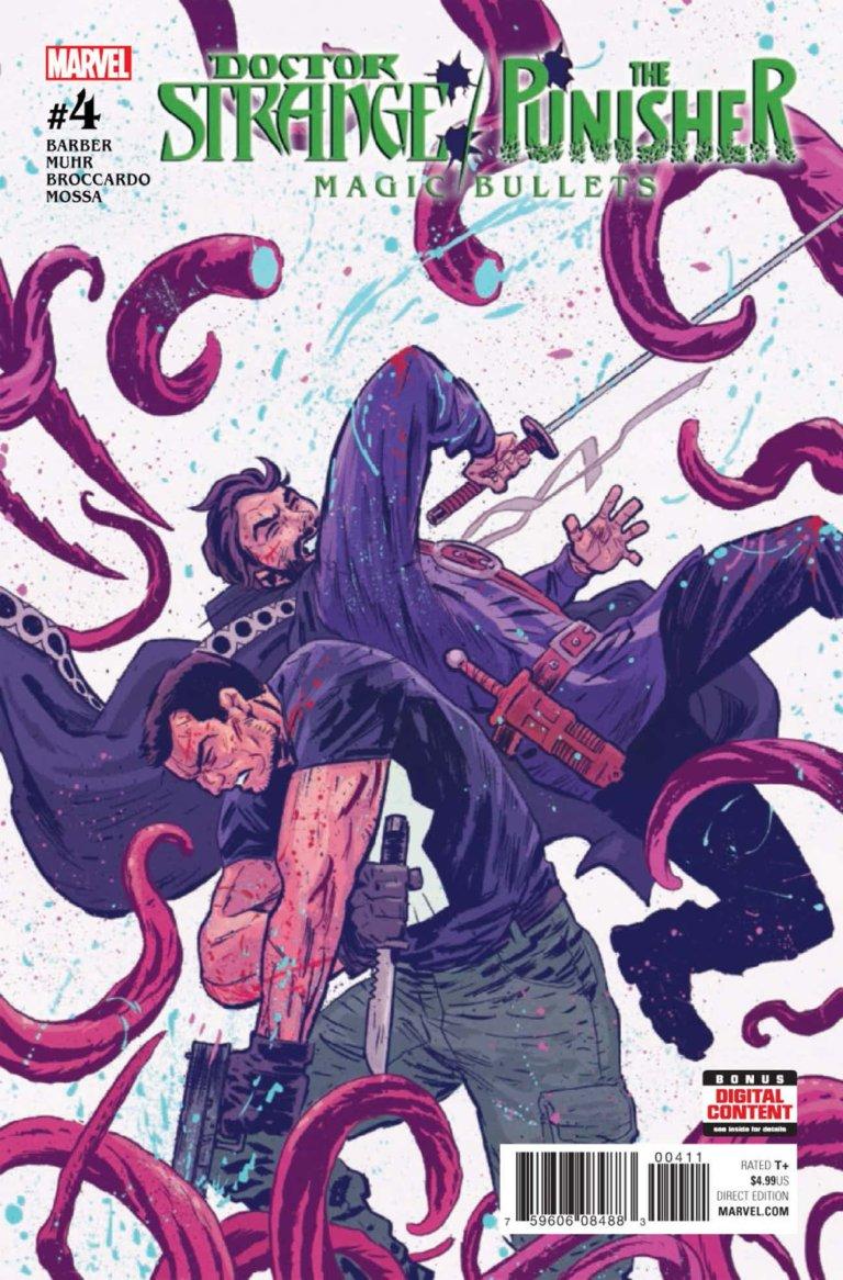 Doctor Strange Punisher Magic Bullets #4