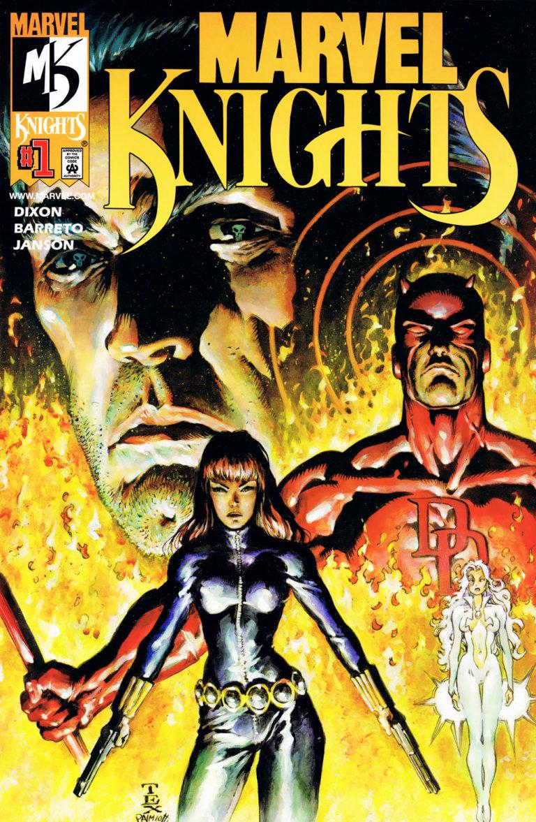 Marvel Knights Vol 1 #1 c