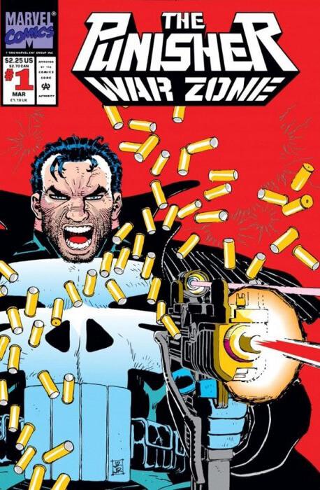 Punisher War Zone #1b