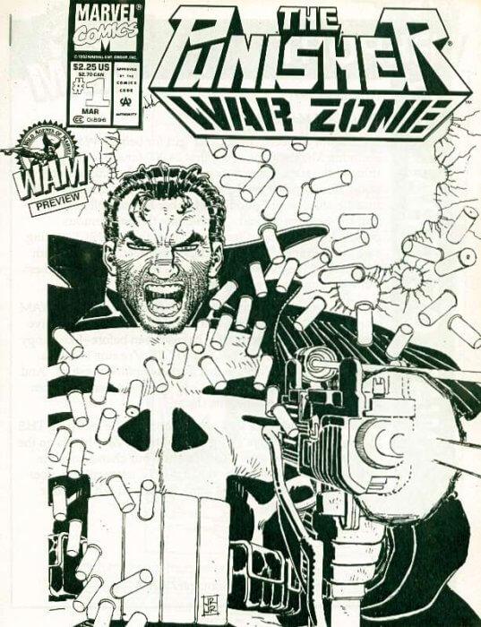 Punisher War Zone #1c