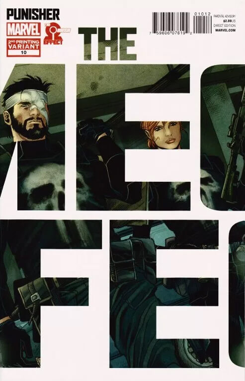 Punisher vol 8 #10c 2nd Print