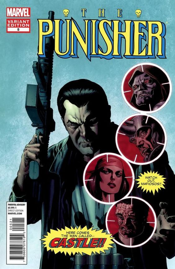 Punisher vol 8 #5b Mike Perkins variant