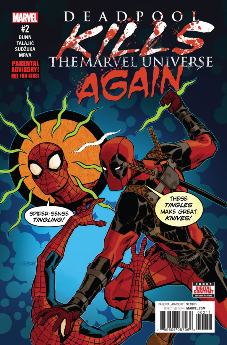 Deadpool Kills the Marvel Universe Again #2