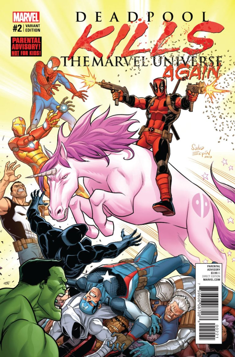 Deadpool Kills the Marvel Universe Again #2 b