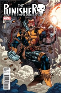 Punisher vol 10 #14 X-Men trading card variant