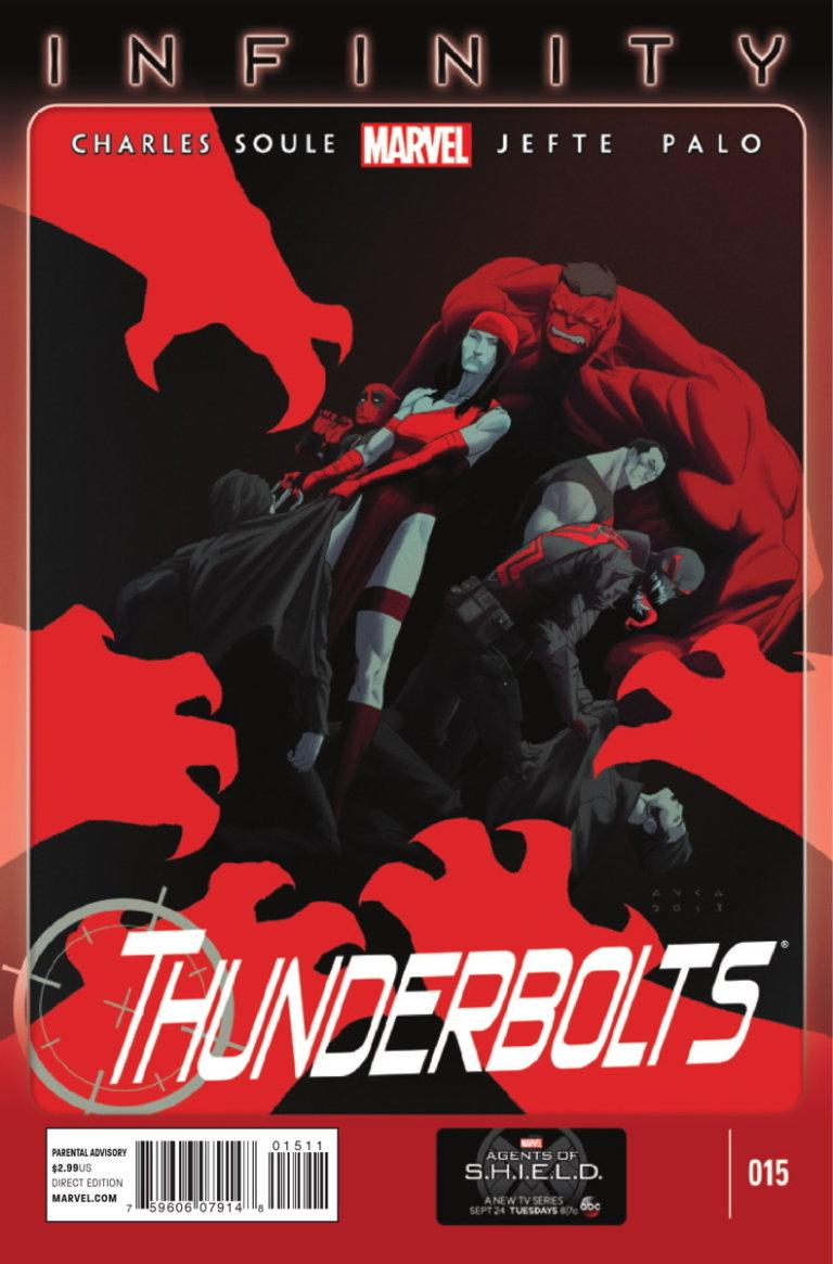 Thunderbolts vol 2 #15