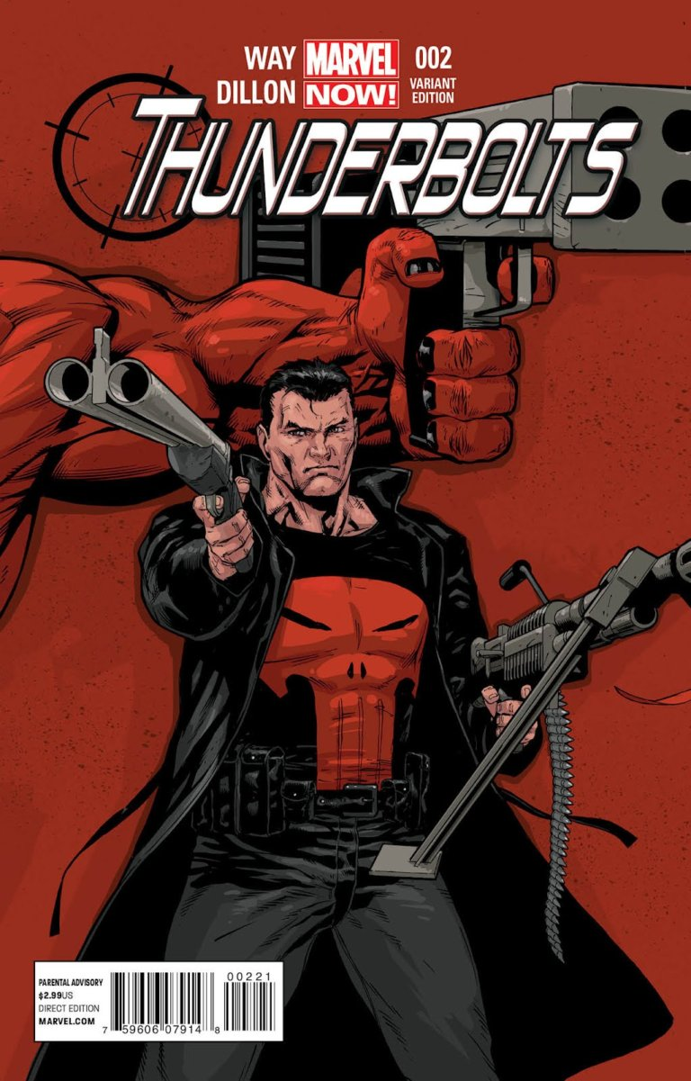 Thunderbolts vol 2 #2 b