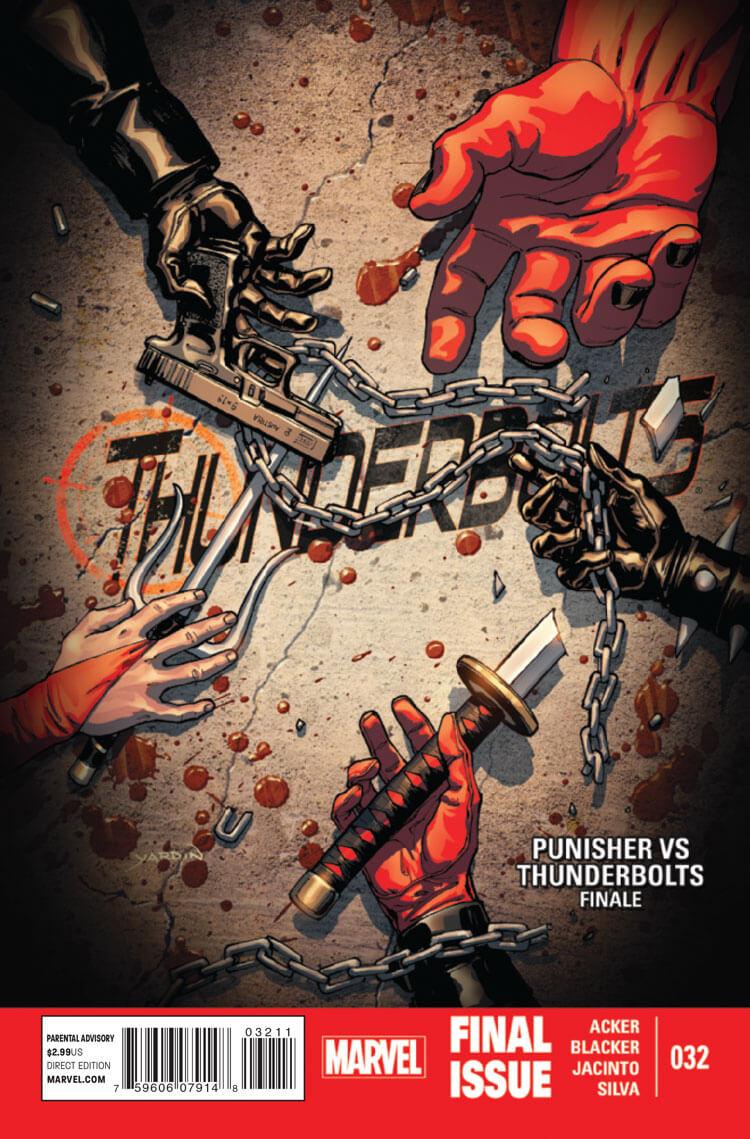 Thunderbolts vol 2 #32