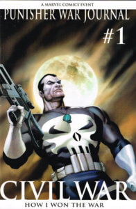 Punisher War Journal vol 2 #1 2nd Print