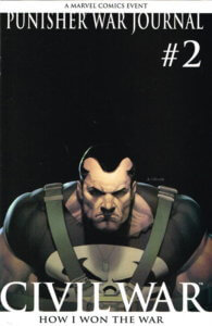 Punisher War Journal vol 2 #2 2nd Print