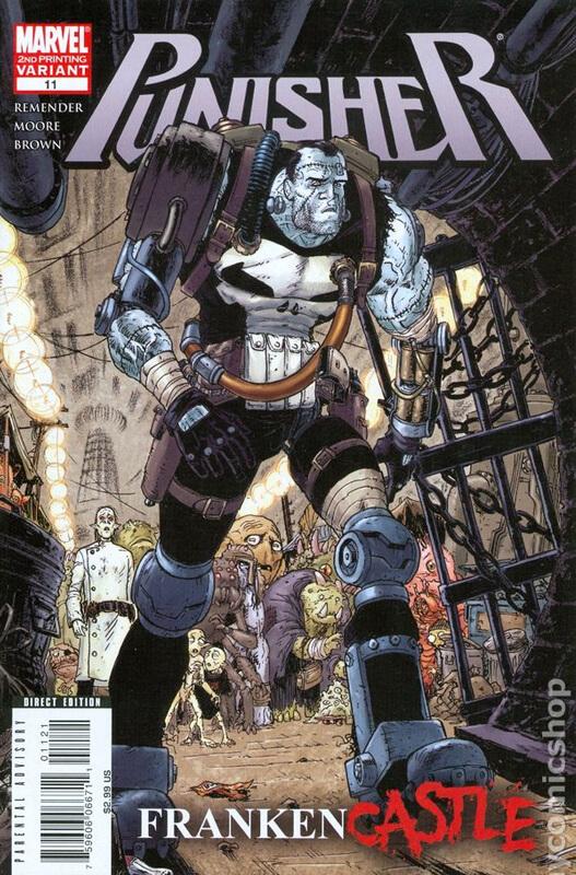 Punisher vol 7 #11 b