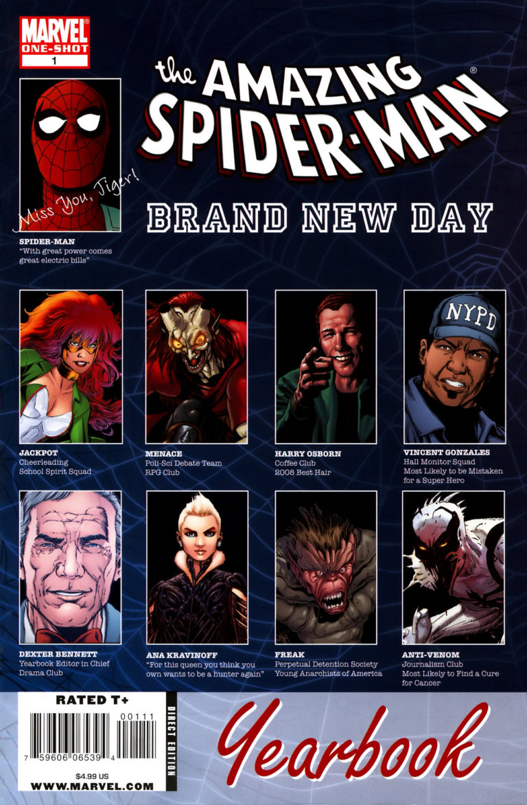 Spider-Man: Brand New Day Yearbook