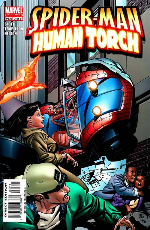 Spider-Man Human Torch #3