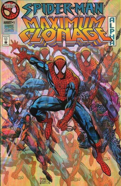 Spider-Man Maximum Clonage Alpha